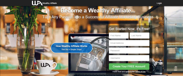 Wealthy Affiliate - Sign up