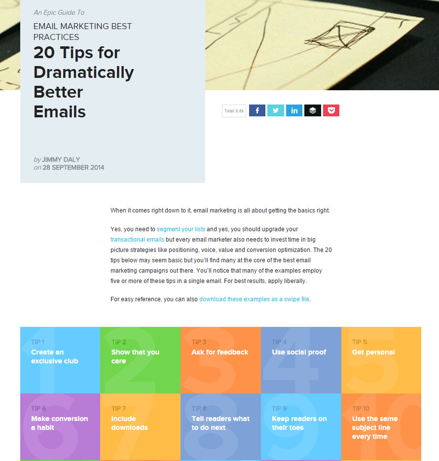 20 Tips for Dramatically Better Emails - Vero
