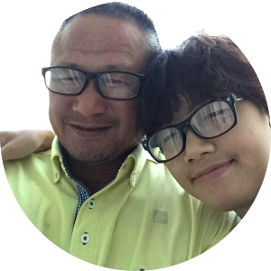 Anh Nguyen and Dad