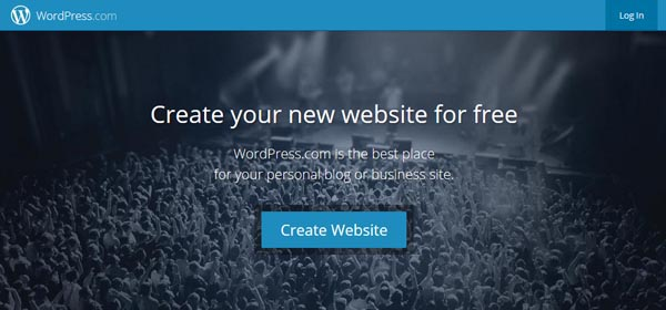 WordPress dot com - Website