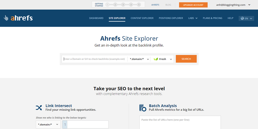Ahrefs - Resources