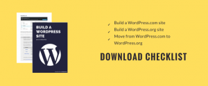 Download Build a WordPress site - Checklist