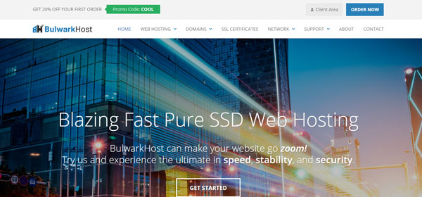 Bulwark Host - Monthly Web Hosting