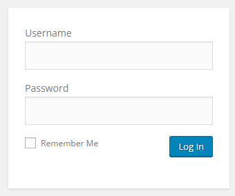 Install WordPress to BlueHost - Sign in to WordPress