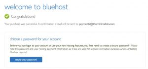 Install WordPress to BlueHost - Welcome to BlueHost