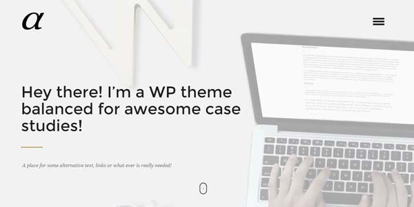 Alpha - Premium WordPress Theme
