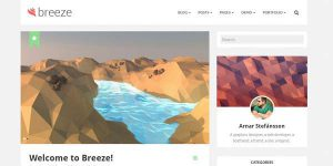 Breeze - Premium WordPress Theme