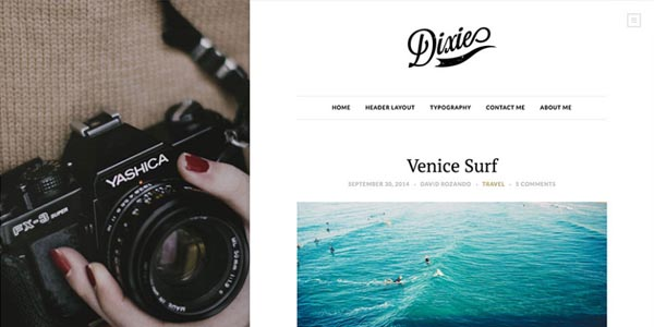 Dixie - Premium WordPress Theme