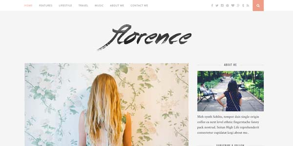 Florence - Premium WordPress Theme
