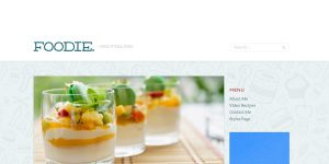 Foodie - Premium WordPress Theme
