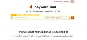 Keyword Tool dot io - Website