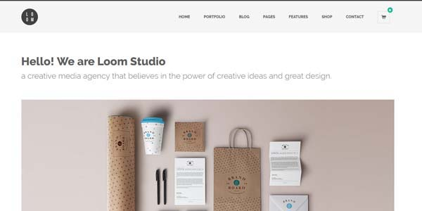 Loom - Premium WordPress Theme 02