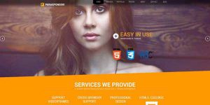 Parasponsive - Premium WordPress Theme