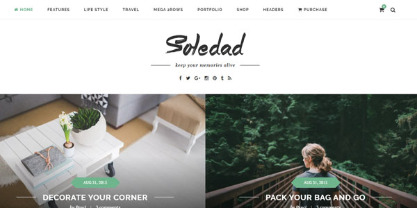 Soledad - Premium WordPress Theme