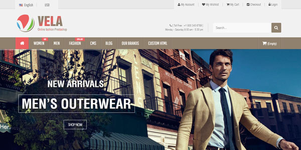 Vela - Premium WordPress Theme