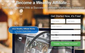 Affiliate Marketing Course - Sign Up To Wealthy Affiliate