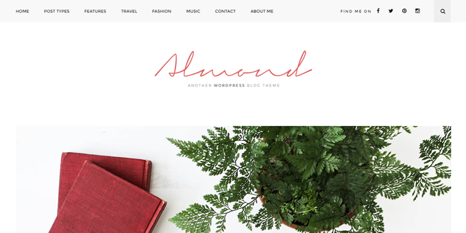 Almond - WordPress Blog Design