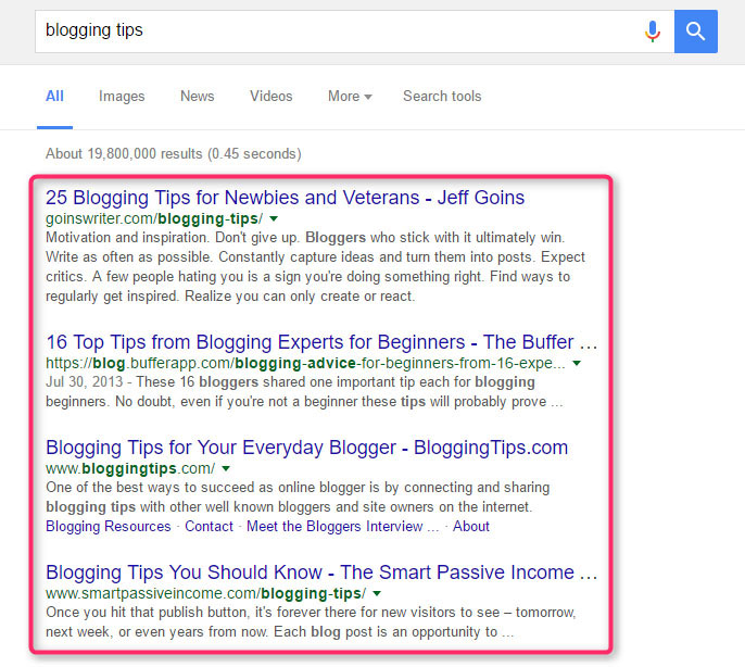 Blogging tips - Google Search