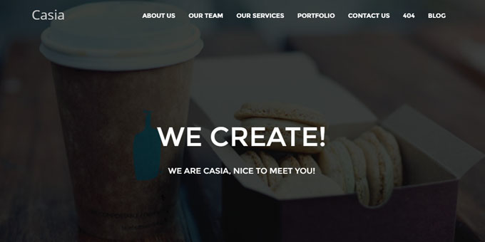 Casia - Premium Minimal WordPress Themes
