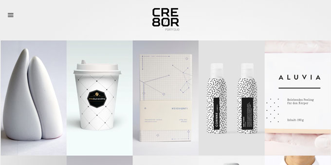 Cre8or - Premium Minimal WordPress Themes