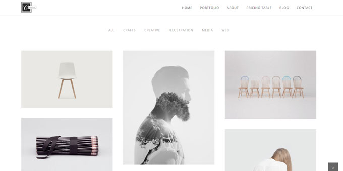 Creek - Premium Minimal WordPress Themes