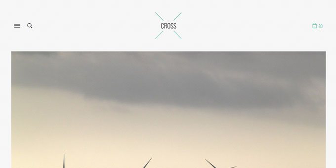 Cross - Premium Minimal WordPress Themes