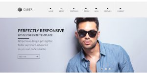 Cuber - Premium Minimal WordPress Themes