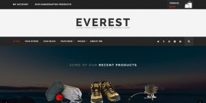Everest - Premium Minimal WordPress Themes