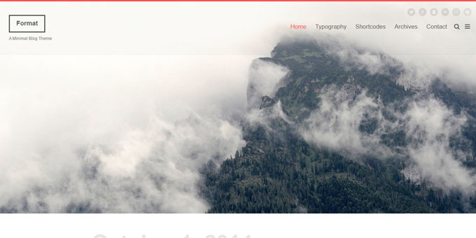 Format - Premium Minimal WordPress Themes