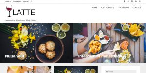 Latte - WordPress Blog Design