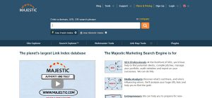 Majestic - SEO Software