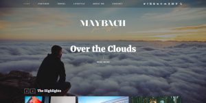 Maybach - WordPress Blog Design