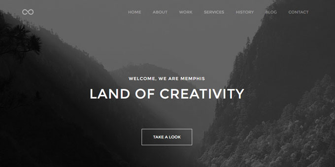 Memphis - Premium Minimal WordPress Themes