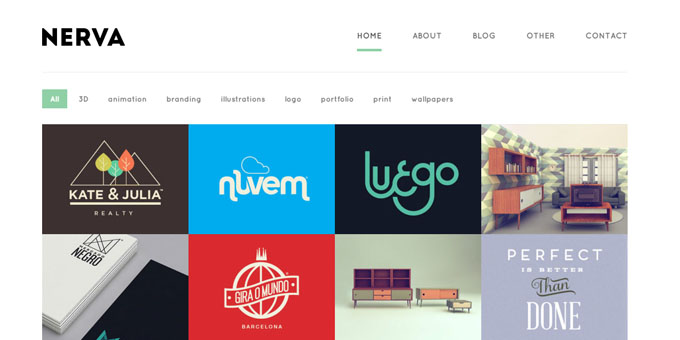 Nerva - Premium Minimal WordPress Themes