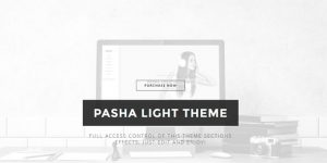 Pasha - Premium Minimal WordPress Themes