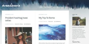 Scandinavia - WordPress Blog Design