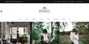 Schema - WordPress Blog Design