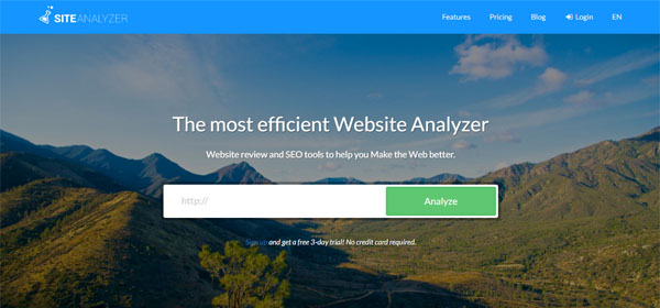 Site Analyser - SEO Software