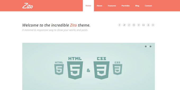 Zito - Premium Minimal WordPress Themes