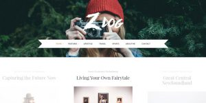 Zlog - WordPress Blog Design