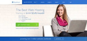 BlueHost - Top 10 Blog Hosting Sites