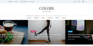 Colors - Cheap WordPress Magazine Themes