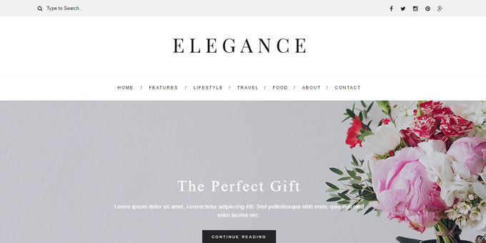 Elegance - Cheap WordPress Magazine Themes