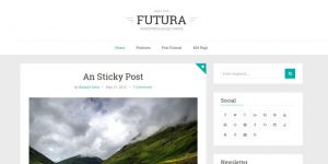 Futura - Cheap WordPress Magazine Themes