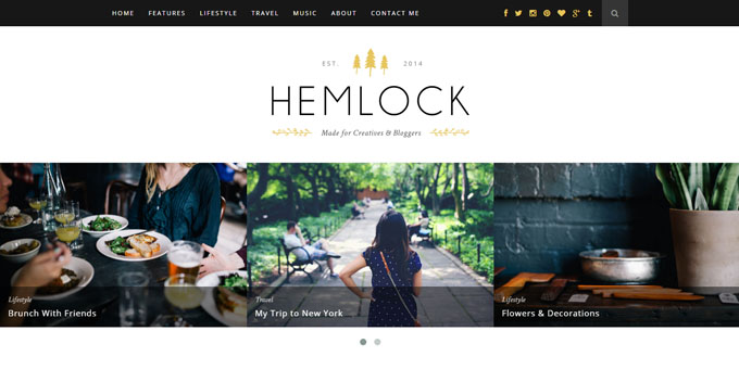 Hemlock - Cheap WordPress Magazine Themes