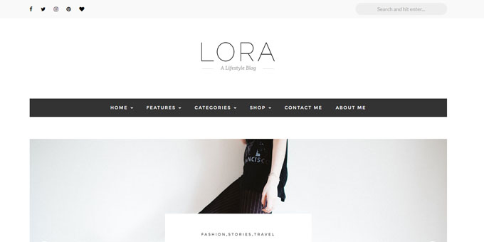 Lora - Cheap WordPress Magazine Themes
