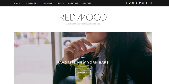 Redwood - Cheap WordPress Magazine Themes