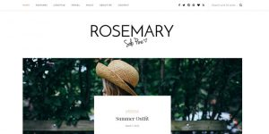 Rosemary - Cheap WordPress Magazine Themes