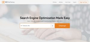 SEO Site Checkup - Best SEO Ranking Tools