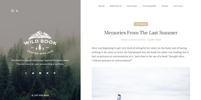 Wild Book - Cheap WordPress Magazine Themes
